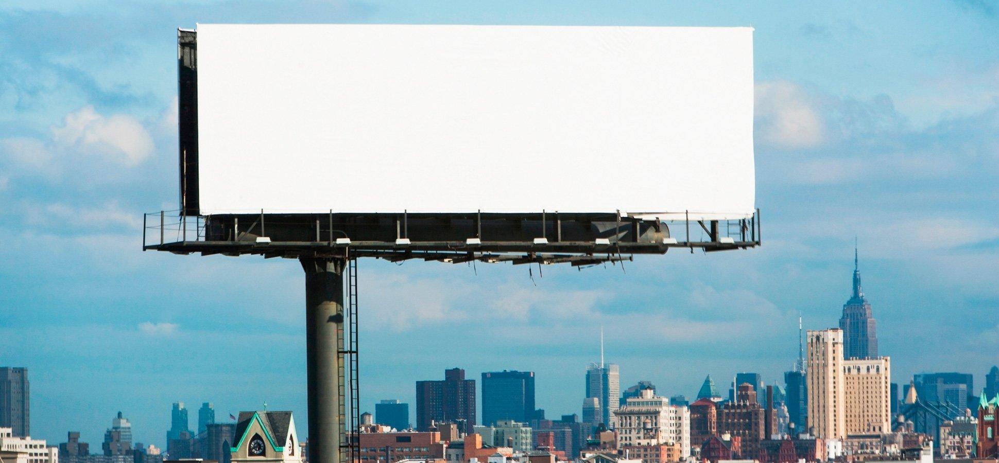 Pasang iklan billboard