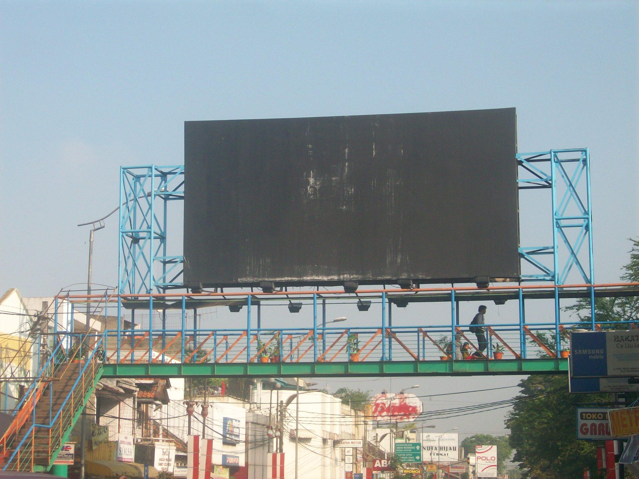 vendor papan reklame