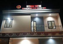 Huruf Timbul Istana Yatim Jakarta Timur