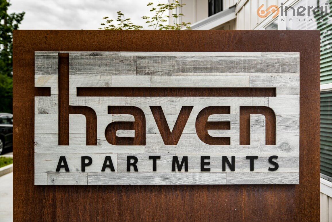 Signage Apartment
