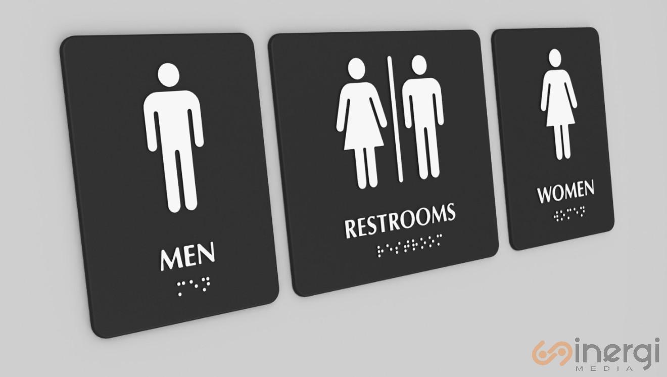 Signage Toilet
