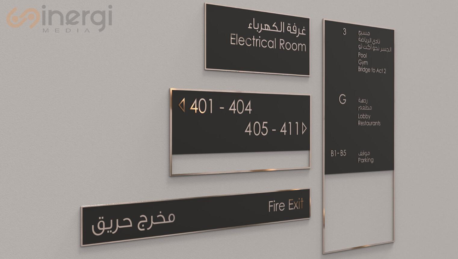 Signage Indoor
