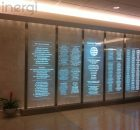 Glass Signage Board