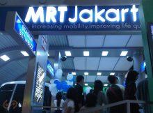 Signage MRT Jakarta