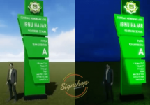 Pylonsign Ibnu Hajar Bogor