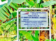 Plang Nama Pemilik Tanah