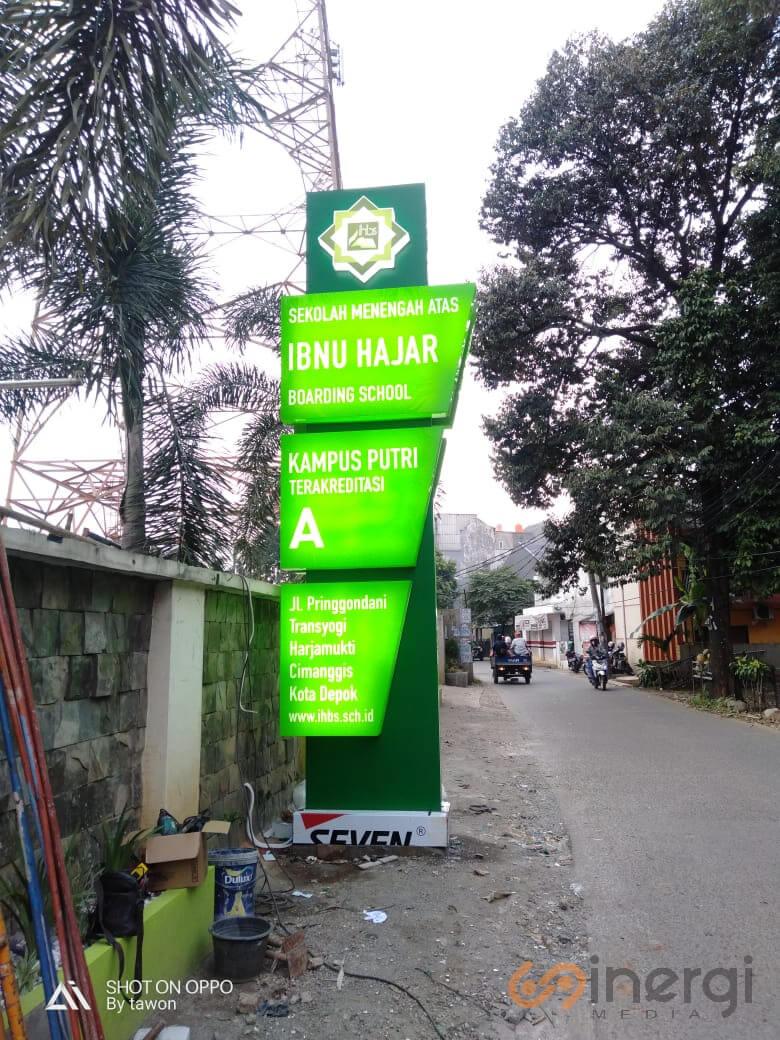 Plang Nama Madrasah