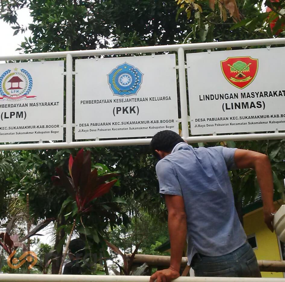 Plang Nama PKK
