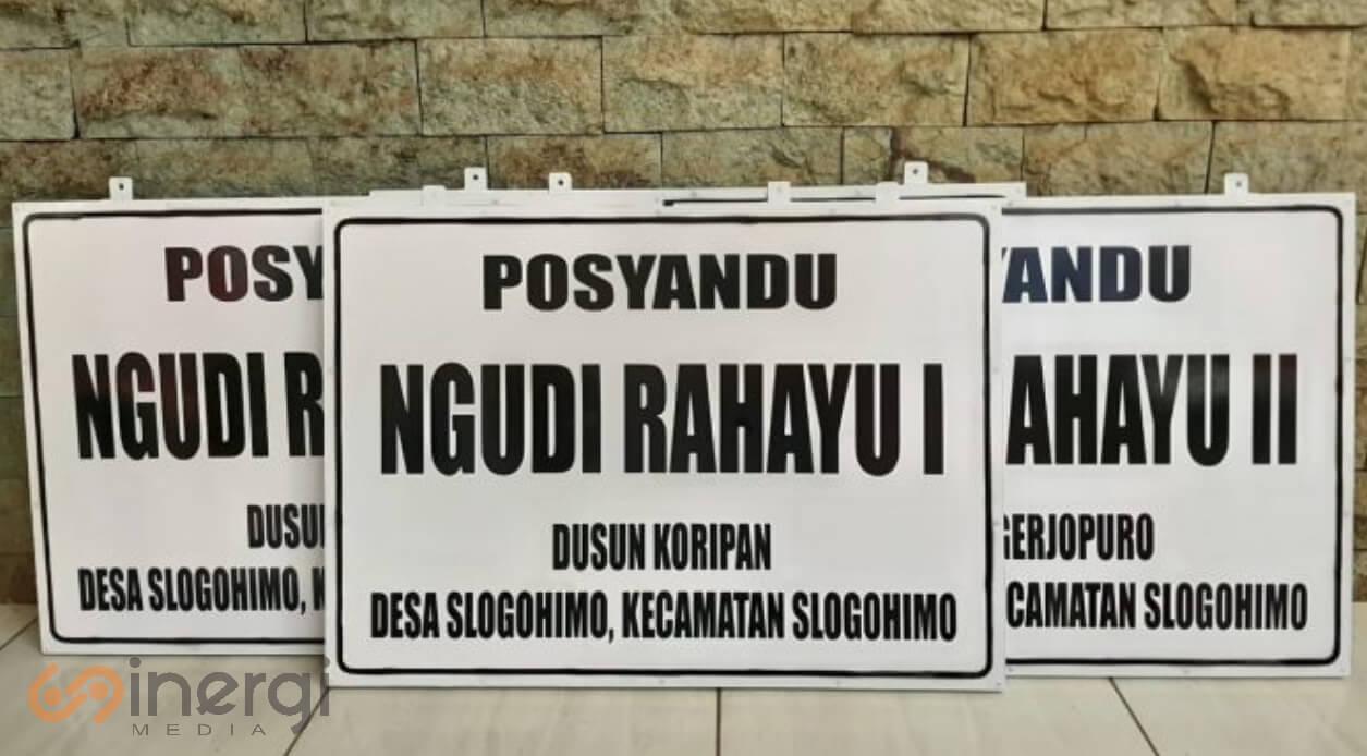 Plang Nama Posyandu