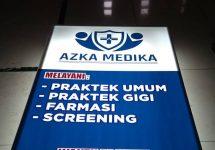 Neonbox Klinik Azka Jakarta